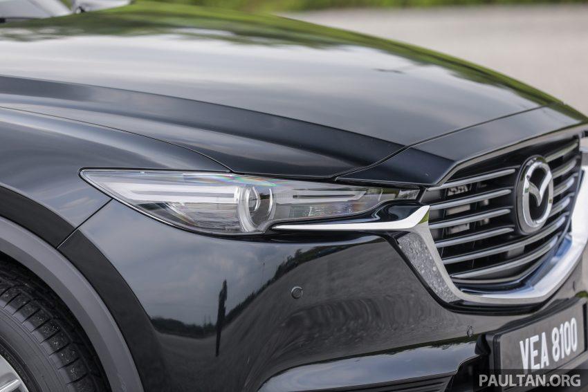 试驾:2020 Mazda CX-8,七人座 SUV 也一样能文能武 Image #134730