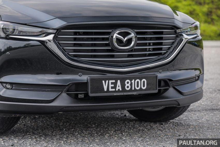 试驾:2020 Mazda CX-8,七人座 SUV 也一样能文能武 Image #134733
