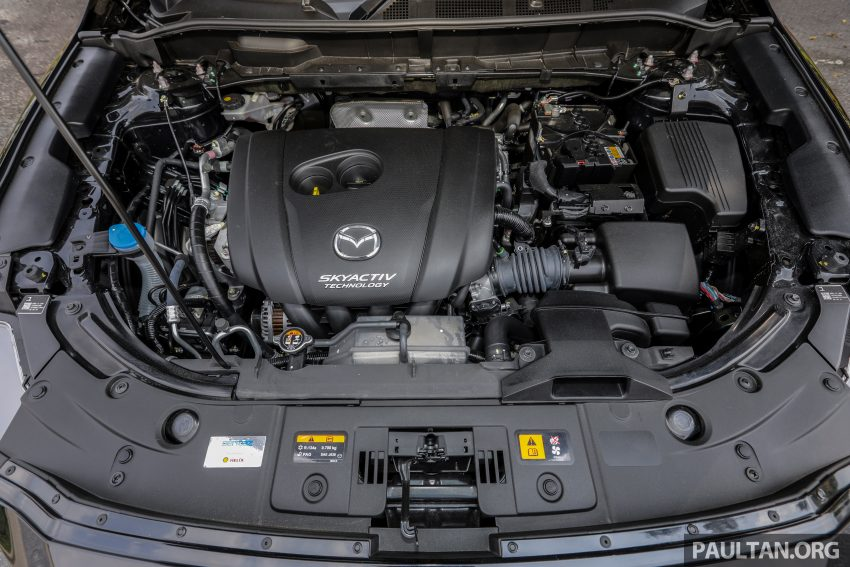 试驾:2020 Mazda CX-8,七人座 SUV 也一样能文能武 Image #134749