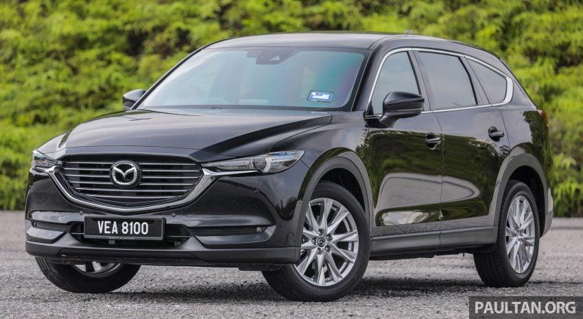 试驾:2020 Mazda CX-8,七人座 SUV 也一样能文能武 Image #134717