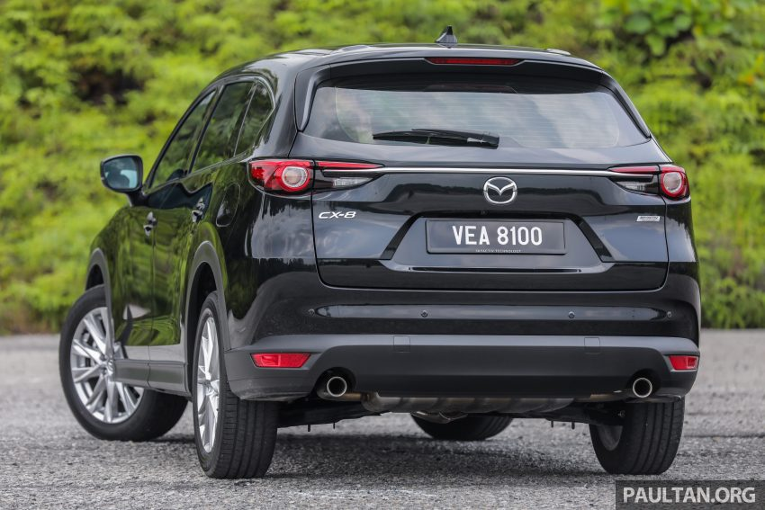 试驾:2020 Mazda CX-8,七人座 SUV 也一样能文能武 Image #134721