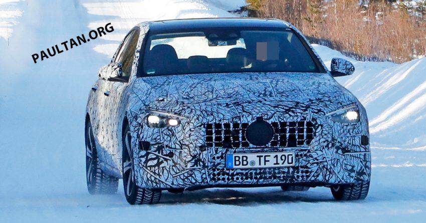 全新 W206 Mercedes-Benz C-Class 假想图, 全新家族脸 Image #135184