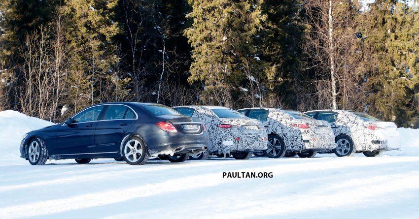 全新 W206 Mercedes-Benz C-Class 假想图, 全新家族脸 Image #135197