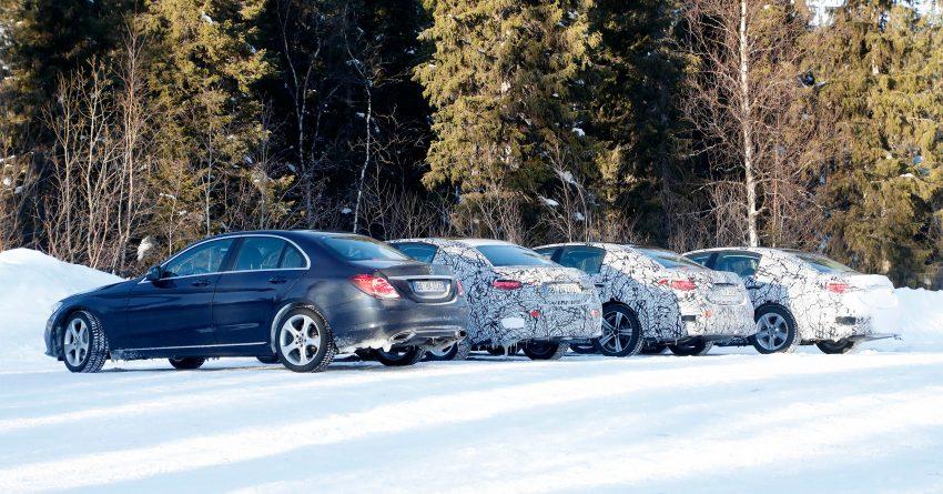 全新 W206 Mercedes-Benz C-Class 假想图, 全新家族脸 Image #135198
