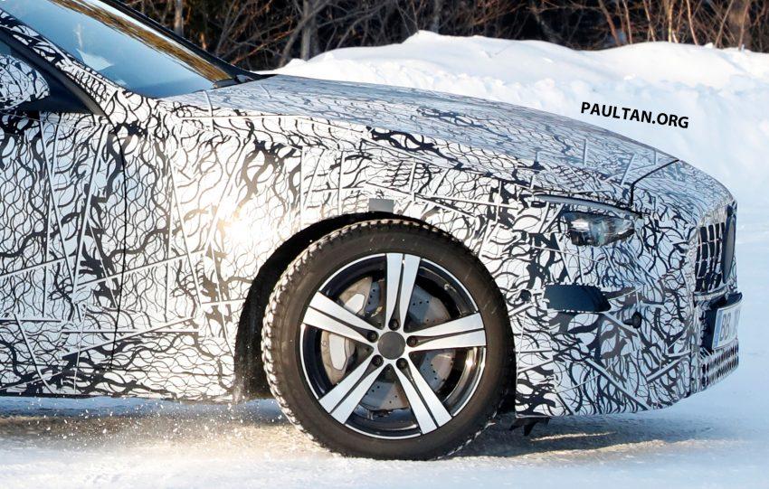 全新 W206 Mercedes-Benz C-Class 假想图, 全新家族脸 Image #135192