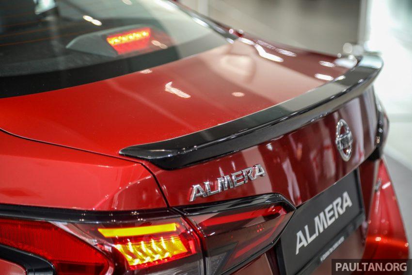 全新 Nissan Almera 本地开放预订, 价格最高RM9X,XXX Image #134182