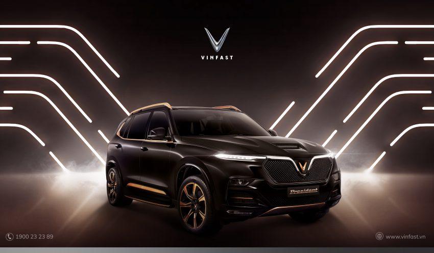 越南豪华品牌 VinFast 发表旗舰SUV President, 仅500辆 Image #134446