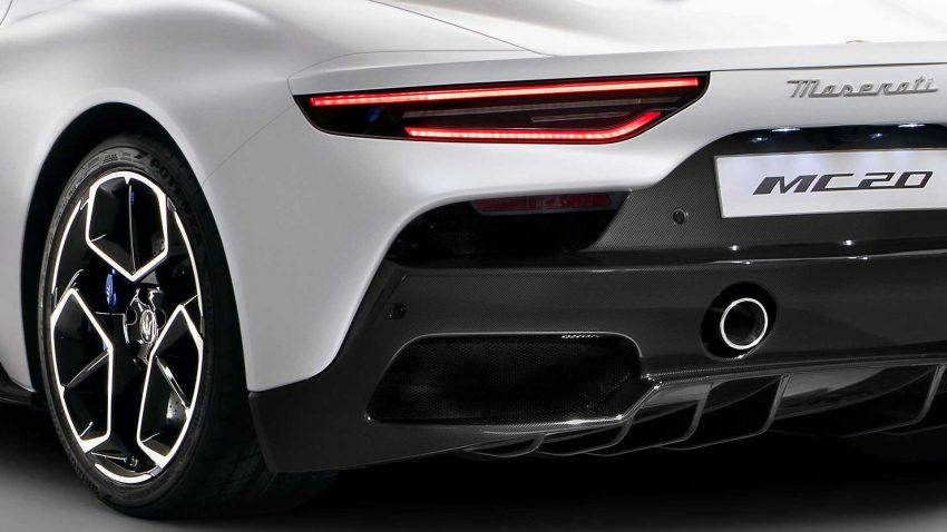 全新旗舰超跑亮相, Maserati MC20 全球首发, 2.9秒飙破百 Image #134543
