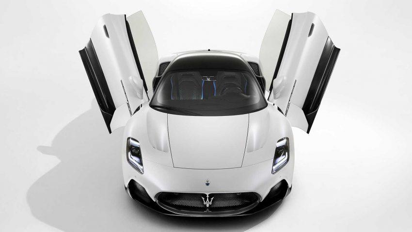 全新旗舰超跑亮相, Maserati MC20 全球首发, 2.9秒飙破百 Image #134529