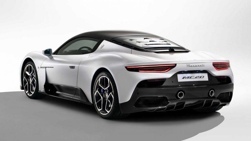 全新旗舰超跑亮相, Maserati MC20 全球首发, 2.9秒飙破百 Image #134530