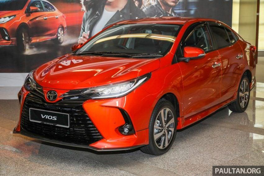 新车实拍: 2021 Toyota Vios 小改款, 三等级价格7.4万起 Image #142971