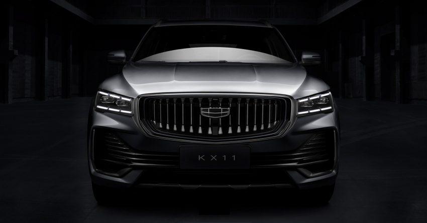 全新旗舰SUV, 吉利 KX11 申报文件被曝光, 搭载2.0T引擎? Image #145192