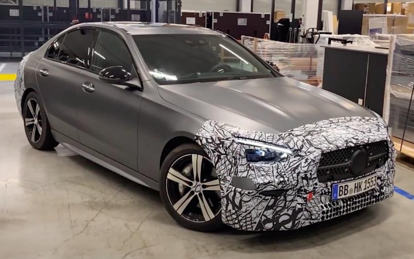 原厂正式预告, 全新Mercedes-Benz C-Class本月23日首发 Image #145476