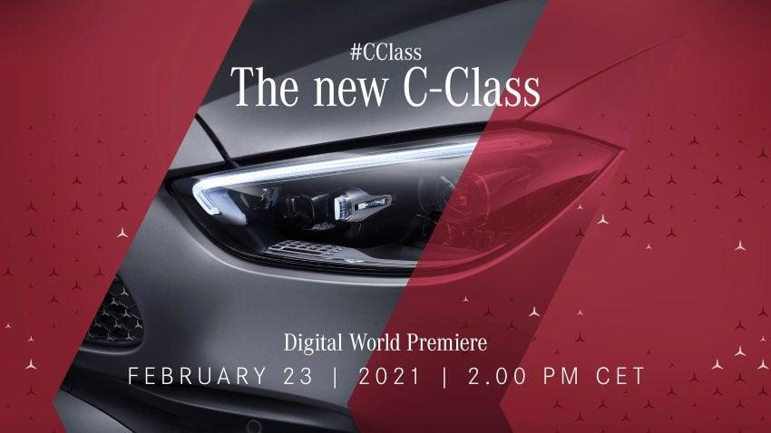 原厂正式预告, 全新Mercedes-Benz C-Class本月23日首发 Image #145479