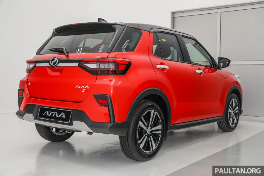 Perodua Ativa 1.0T 正式上市: 三个等级规格差异逐个看 Image #146999