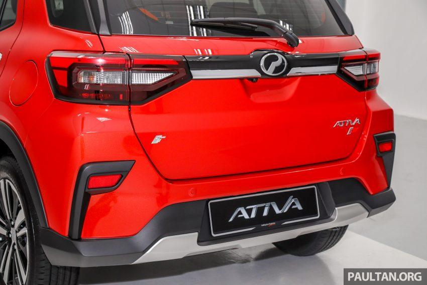 Perodua Ativa 1.0T 正式上市: 三个等级规格差异逐个看 Image #147037