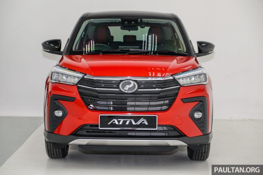 Perodua Ativa 1.0T 正式上市: 三个等级规格差异逐个看 Image #147001