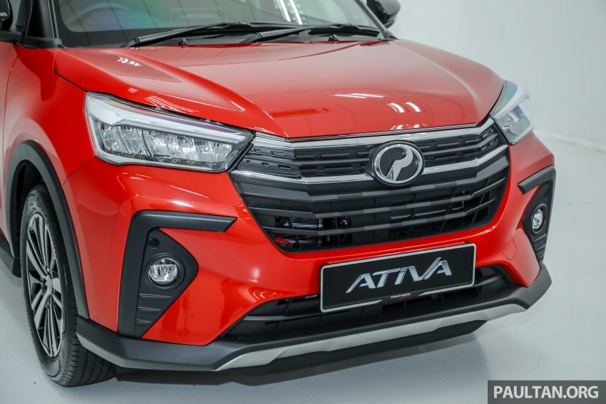 Perodua Ativa 1.0T 正式上市: 三个等级规格差异逐个看 Image #147003