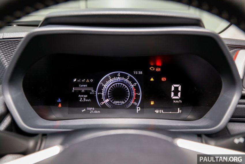 Perodua Ativa 1.0T 正式上市: 三个等级规格差异逐个看 Image #147096