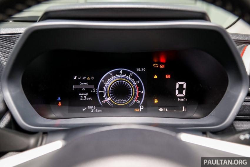 Perodua Ativa 1.0T 正式上市: 三个等级规格差异逐个看 Image #147099