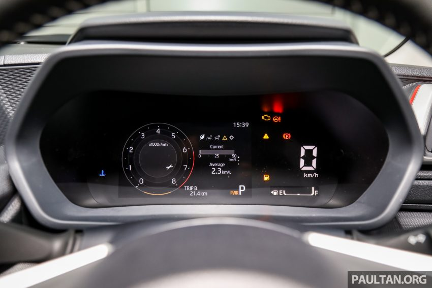 Perodua Ativa 1.0T 正式上市: 三个等级规格差异逐个看 Image #147104