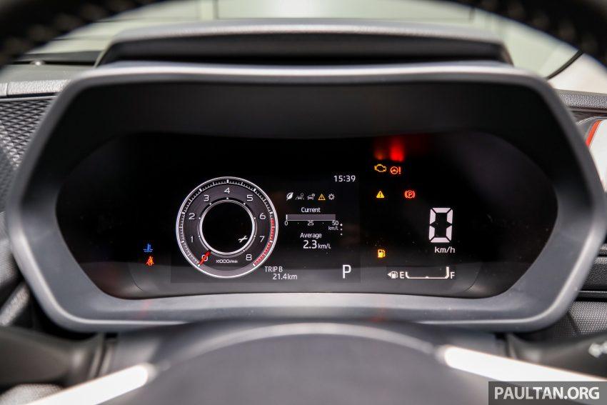 Perodua Ativa 1.0T 正式上市: 三个等级规格差异逐个看 Image #147106