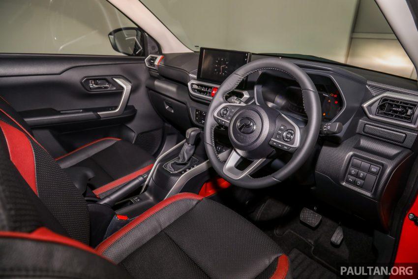Perodua Ativa 1.0T 正式上市: 三个等级规格差异逐个看 Image #147068
