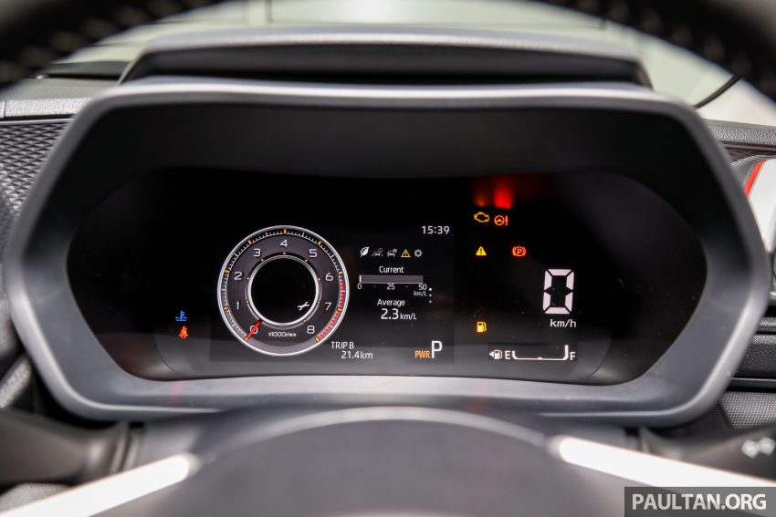 Perodua Ativa 1.0T 正式上市: 三个等级规格差异逐个看 Image #147107