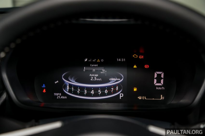 Perodua Ativa 1.0T 正式上市: 三个等级规格差异逐个看 Image #147109