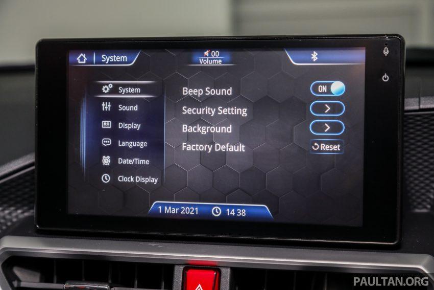 Perodua Ativa 1.0T 正式上市: 三个等级规格差异逐个看 Image #147142