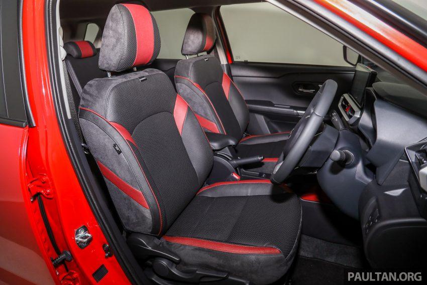 Perodua Ativa 1.0T 正式上市: 三个等级规格差异逐个看 Image #147169