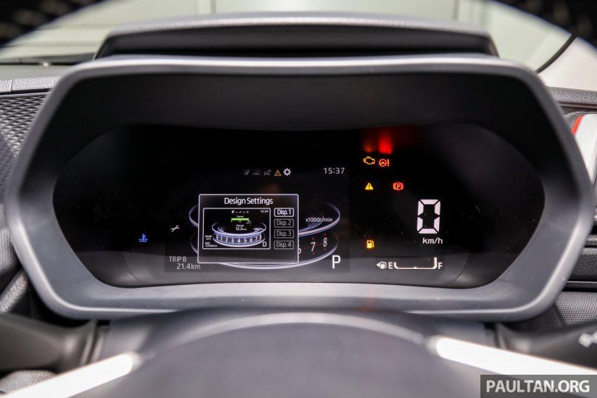 Perodua Ativa 1.0T 正式上市: 三个等级规格差异逐个看 Image #147081