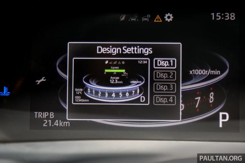 Perodua Ativa 1.0T 正式上市: 三个等级规格差异逐个看 Image #147084