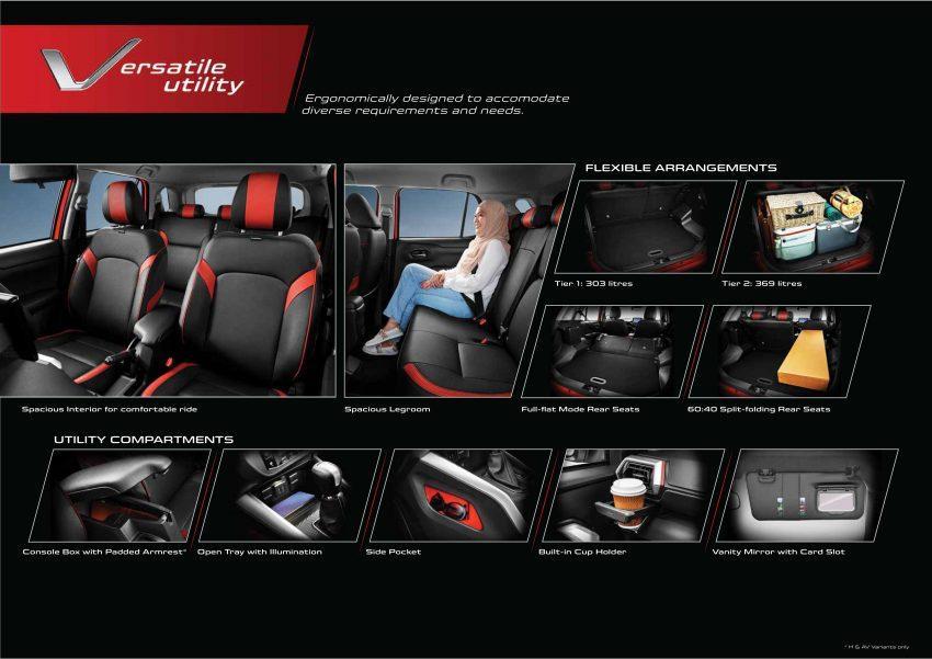 2021 Perodua Ativa 正式发布!三个等级售RM61,500起 Image #147569