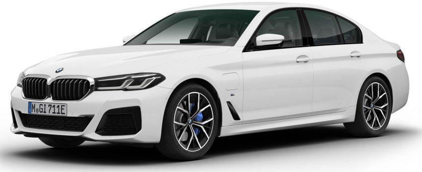 厂方开放注册,2021 BMW 5系列小改款即将在本地上市 Image #148996