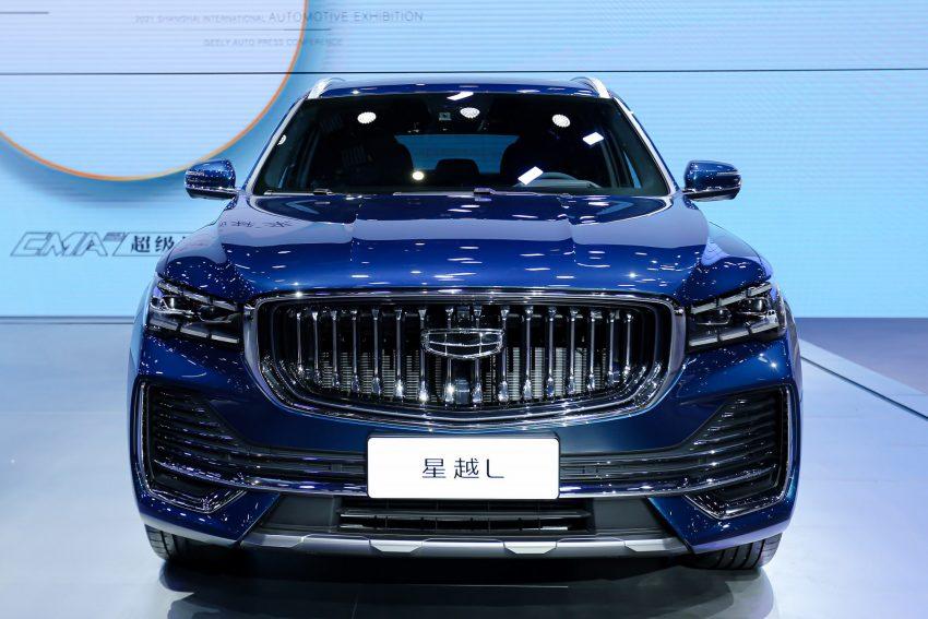 定位全新家族旗舰SUV, 吉利星越L于上海车展首发亮相 Image #153014