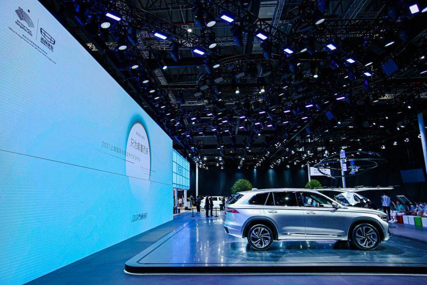 定位全新家族旗舰SUV, 吉利星越L于上海车展首发亮相 Image #153023
