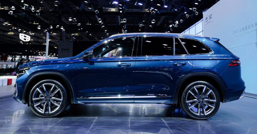 定位全新家族旗舰SUV, 吉利星越L于上海车展首发亮相 Image #153016