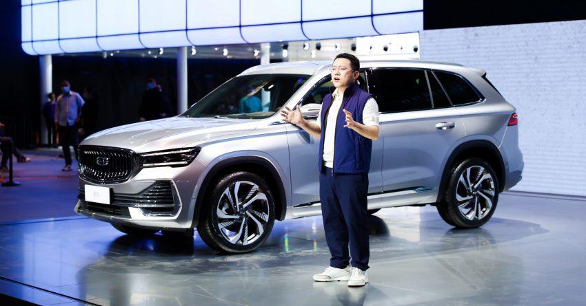 定位全新家族旗舰SUV, 吉利星越L于上海车展首发亮相 Image #153017