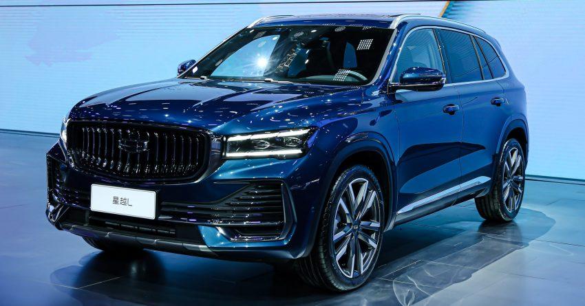 定位全新家族旗舰SUV, 吉利星越L于上海车展首发亮相 Image #153018