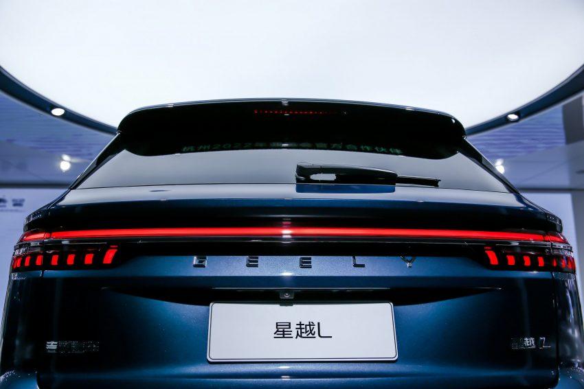 定位全新家族旗舰SUV, 吉利星越L于上海车展首发亮相 Image #153022