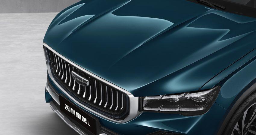 定位全新家族旗舰SUV, 吉利星越L于上海车展首发亮相 Image #153026