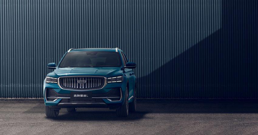 定位全新家族旗舰SUV, 吉利星越L于上海车展首发亮相 Image #153029