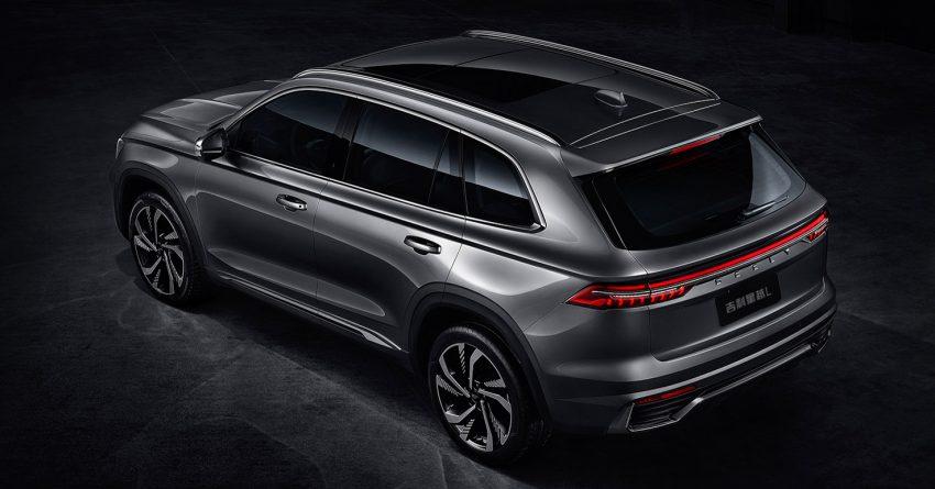 定位全新家族旗舰SUV, 吉利星越L于上海车展首发亮相 Image #153036