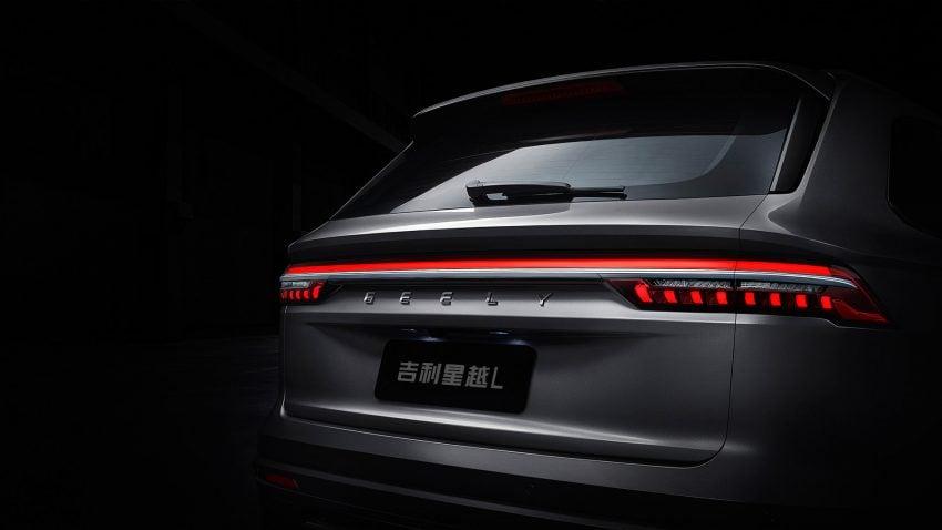 定位全新家族旗舰SUV, 吉利星越L于上海车展首发亮相 Image #153038