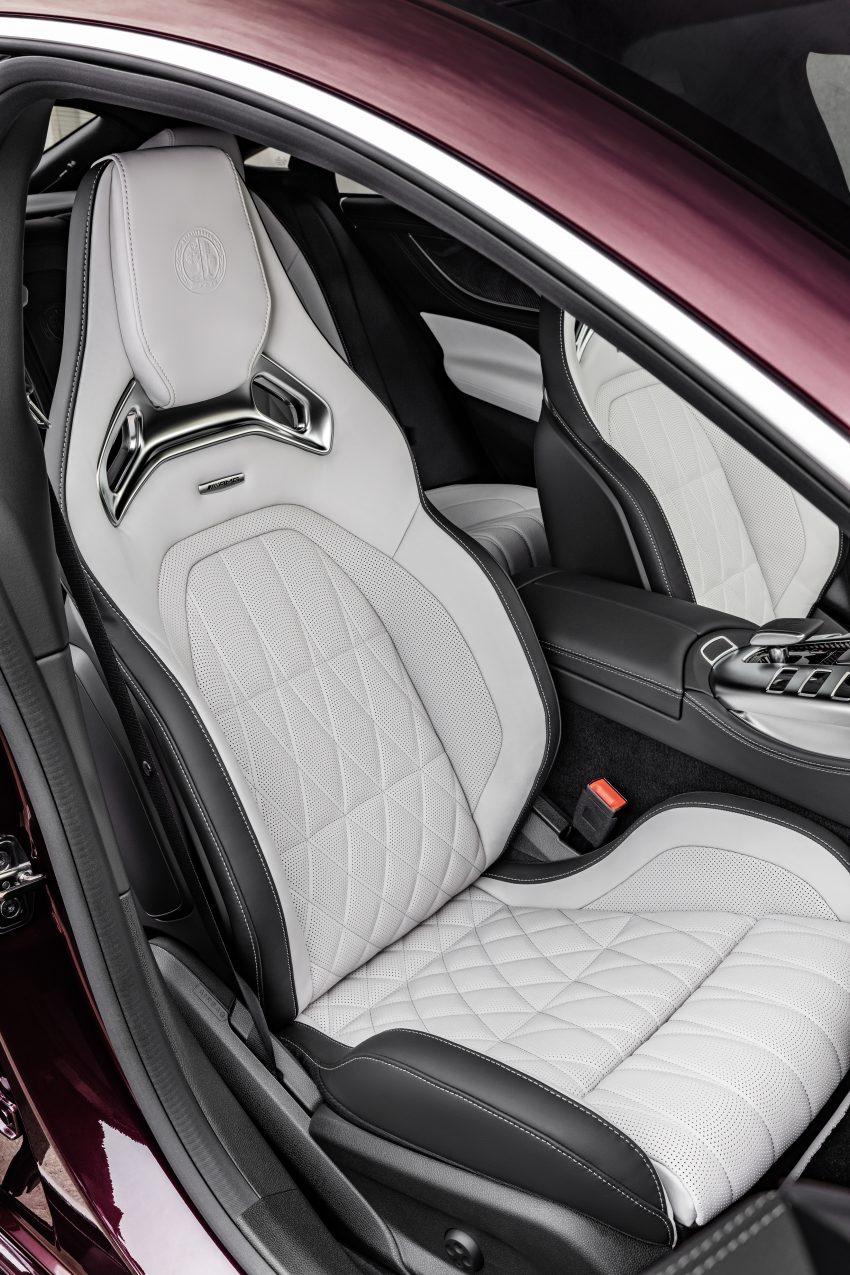 2022 Mercedes-AMG GT 4-Door Coupé 小改款官图发布 Image #156587