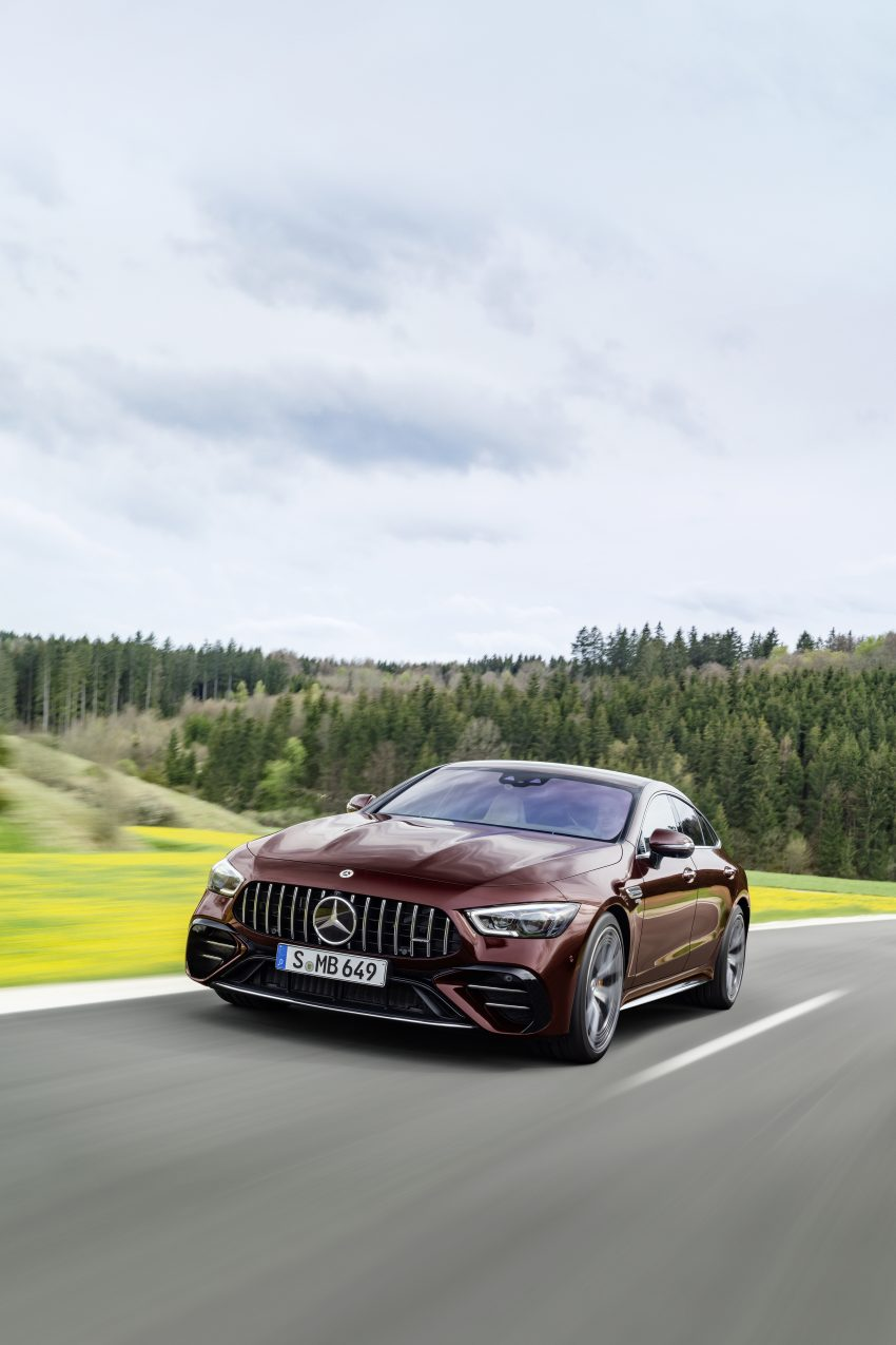 2022 Mercedes-AMG GT 4-Door Coupé 小改款官图发布 Image #156595