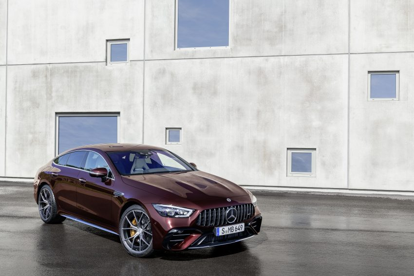 2022 Mercedes-AMG GT 4-Door Coupé 小改款官图发布 Image #156579
