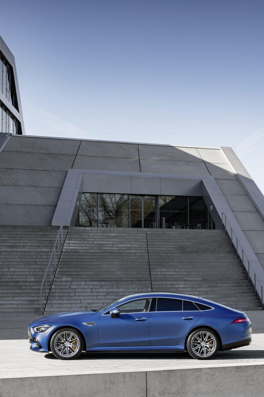 2022 Mercedes-AMG GT 4-Door Coupé 小改款官图发布 Image #156596