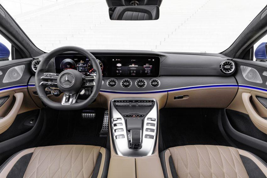 2022 Mercedes-AMG GT 4-Door Coupé 小改款官图发布 Image #156605